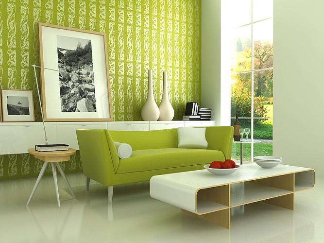 Jak vymalovat obývací pokoj?