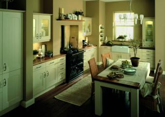 rustikální kuchyň - larkandlarks.co.uk