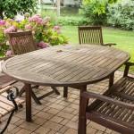 Tipy, Jak čistit zahradní nábytek