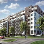 Novostavba Britská Čtvrť nabízí přes sto moderních bytů