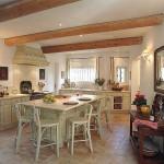 20x kuchyně ve stylu francouzského venkova inspirace