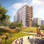Developerský projekt Nad Přehradou – nové byty v atraktivní lokalitě v Praze Hostivaři