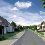 Lidická Alej – nové rodinné domy v Lidicích