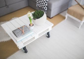 konferenční stolek - palety - pxb
