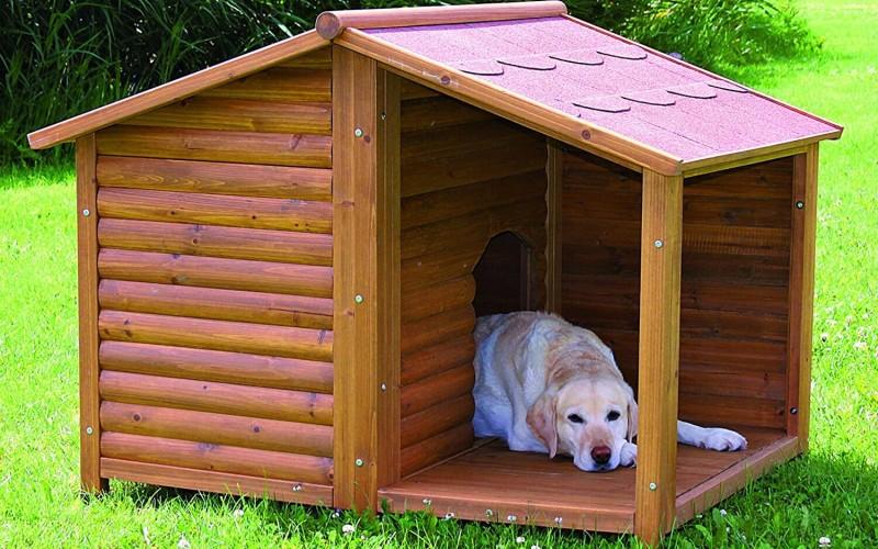 psí bouda - bouda pro psy - pes - hobbytec