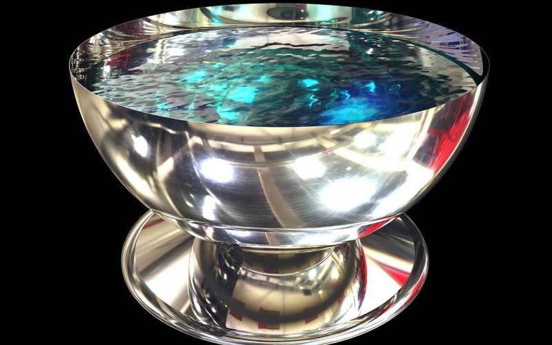 Stříbrná mísa - zdroj: Pixabay