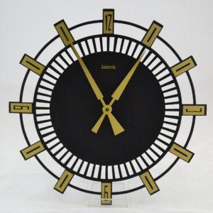 Kuchyňské nástěnné hodiny art deco
