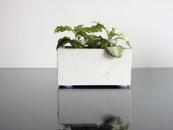 etsy - ConcWoodStreet - betonový květináč - 5