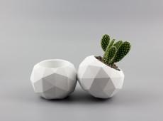 etsy - uniicon - betonový květináč - big