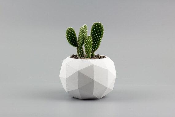 etsy - uniicon - betonový květináč