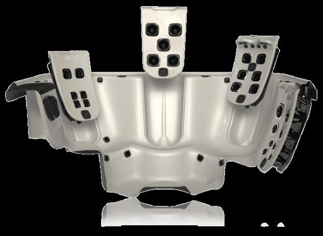 JetPaks Therapy systém vyměnitelných panelů vířivek Villeroy & Boch