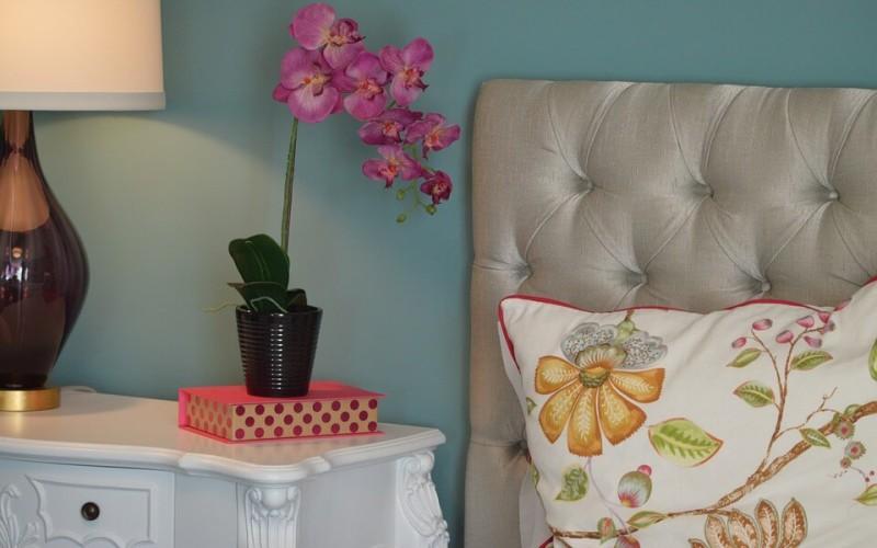ložnice - květiny - pxb