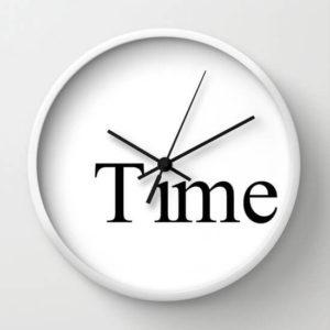 Moderní kuchyňské nástěnné hodiny