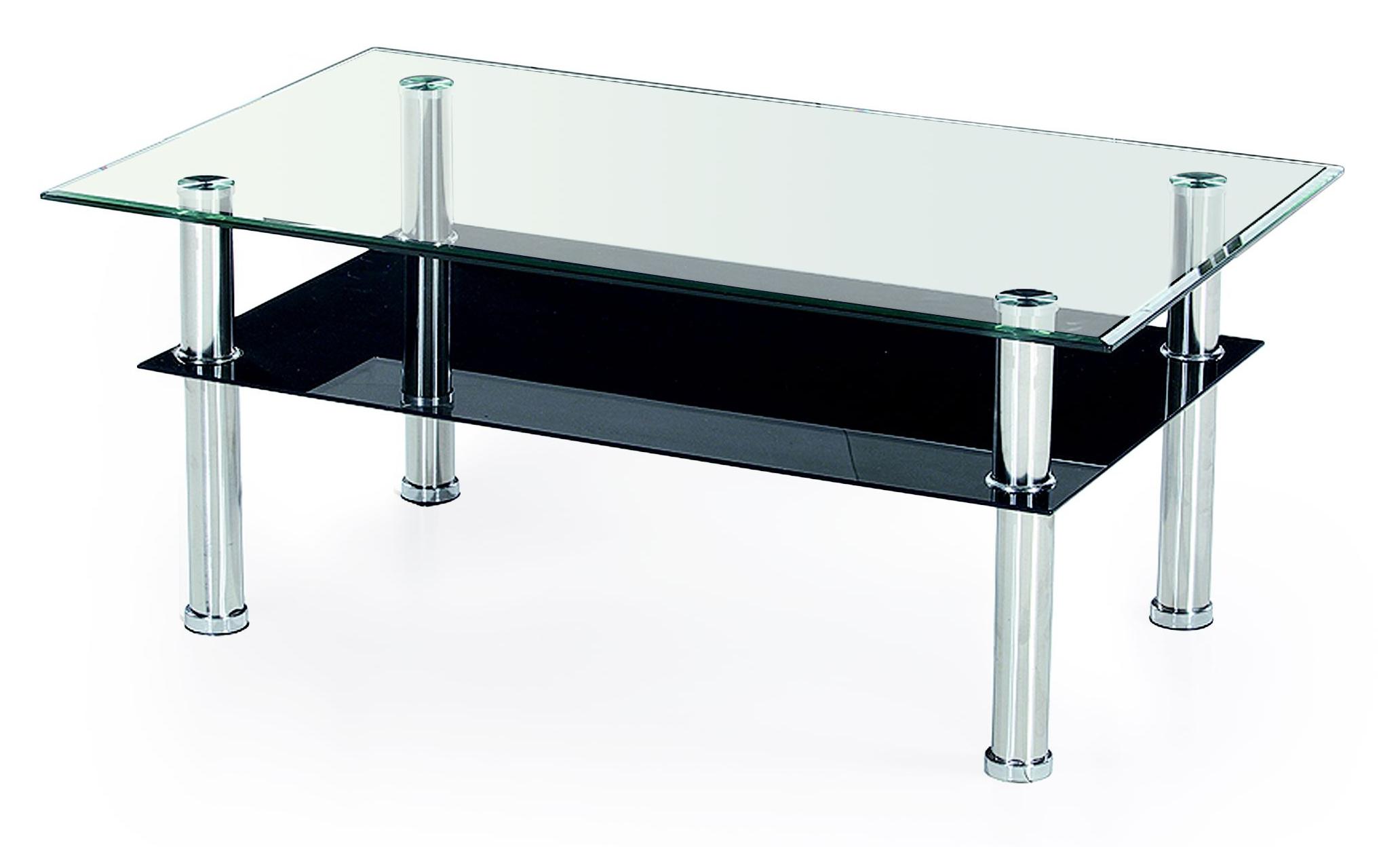 Skleněný konferenční stolek micro