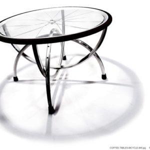 konferenční stolek z kola